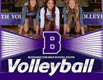 Bloomington High School South Volleyball Media Guides