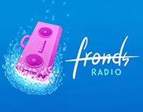 Fronds Radio Logo