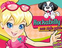 (Mattel) Polly Pocket Style Guide - Rockabilly