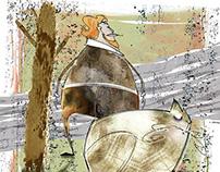 Pan Dergi - Editorial Illustration