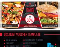 Discount Voucher Template Vol 01