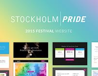 Stockholm Pride 2015 - Festival website