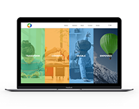 ITWORX Education Corporate Website UI/UX