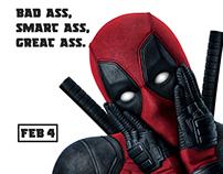Deadpool / fan art poster