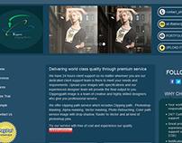 Bootstrap responsive portfolio website