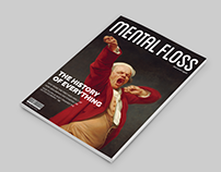 Mental Floss Magazine Redesign