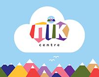 Peak centre logo and ID