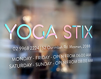 Yoga Stix Branding