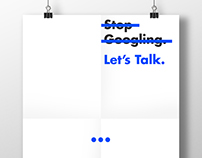 Stop Googling. Let's talk.