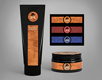 Agent For Men Branding And Package Design