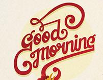 Good Morning!!! Typography