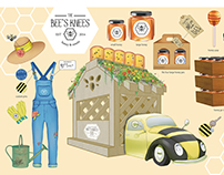 The Bee's Knees Food Truck