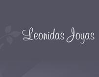 Proycto de desarrollo nuevo web joyas Leonidas