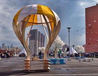 Беседка — воздушный шар