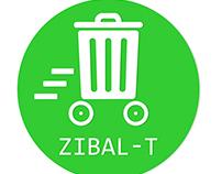 Zibal-T App design