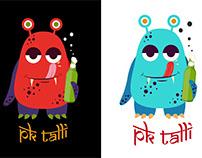 T Shirt - Illustration/ Design - PK Talli