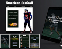 my new design demo app American football