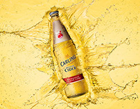 Carling Cider Splash