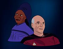 Guinan & Picard