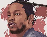 illustration (Kendrick Lamar)