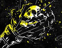 Muertos a Cañonazos - Logotype