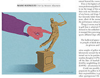 Editorial illustration for The Codger magazine.