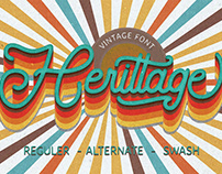 Herittage Font FREE