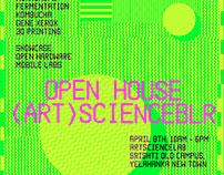 Posters for (Art)ScienceBLR
