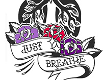 """Just Breathe"" Fundraiser Design"