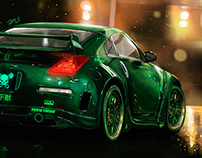 Neon Pulse- Concept cars illustrations