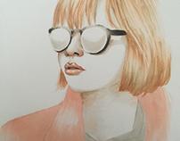 Copic Marker portret