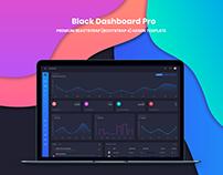 Black Dashboard Pro React