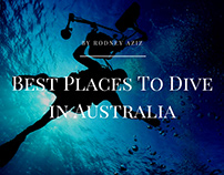 Best Places To Dive in Australia by Rodney Aziz
