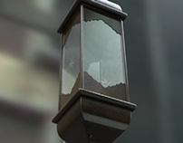 Just a rusty lantern