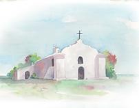 Wedding Invitations - Watercolor
