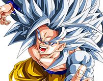 Dragon Ball (Goku) MANGA - Remember old time!!!