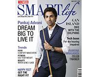 Pankaj Advani for Smart Life magazine