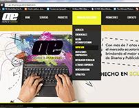 Desarrollo web de Ae, Guayaquil, Ecuador.