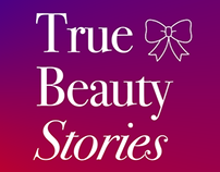 Instagram identity for @True_Beauty_Stories fashionblog