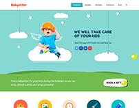 BabySitter Website Design