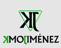 Creación de logo, marca personal Kmo Jiménez.