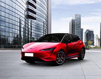 Tesla Model H - Hatchback