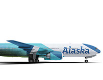 Alaska Airlines Branding Project