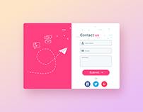 Web application ui design