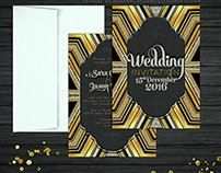 Stylish Glam Art Deco | INVITATIONS