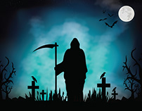 THE DAY OF THE DEATH - ILLUSTRATION