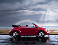 VW Cabriolet Print and Poster Campaign
