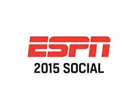 ESPN 2015 Social Media Graphics