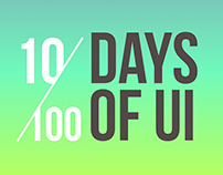 10/100 Days of UI