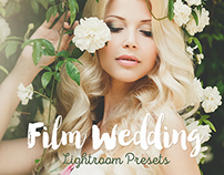 Film Wedding Lightroom presets & Photoshop actions